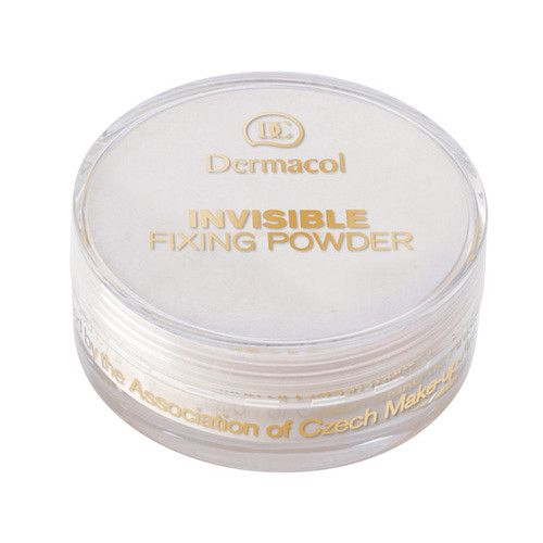 Dermacol Lehký fixační pudr (Invisible Fixing Powder) 13,5 g Natural