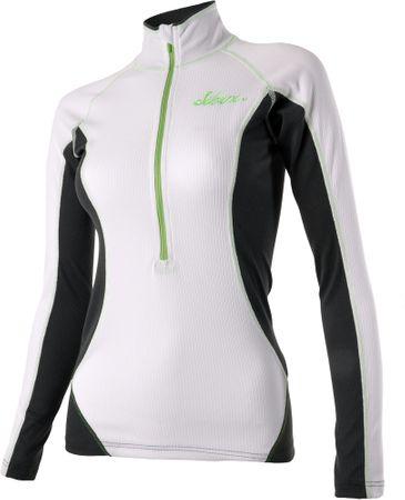 Silvini majica Locone WT910, bela/zelena, M