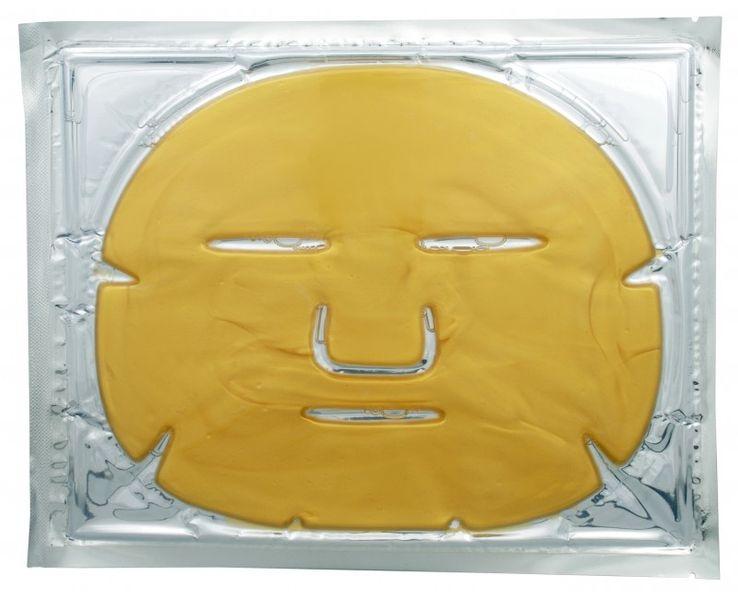 Jednorázové masky Kolagenová obličejová maska se zlatem (Collagen Crystal Mask) 1 ks