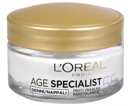 L'Oréal Denný krém proti vráskam Age Specialist 55+ 50 ml
