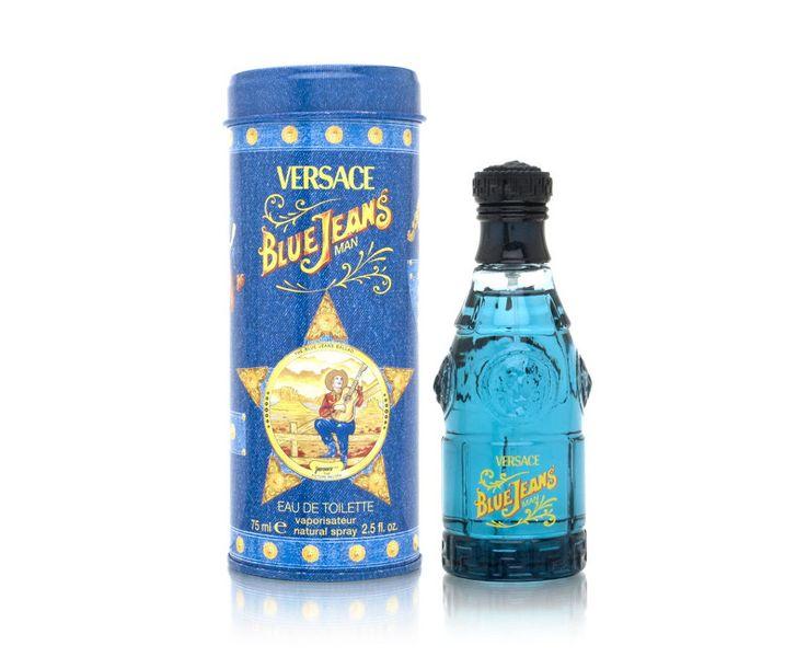 Versace Blue Jeans - toaletní voda s rozprašovačem 75 ml