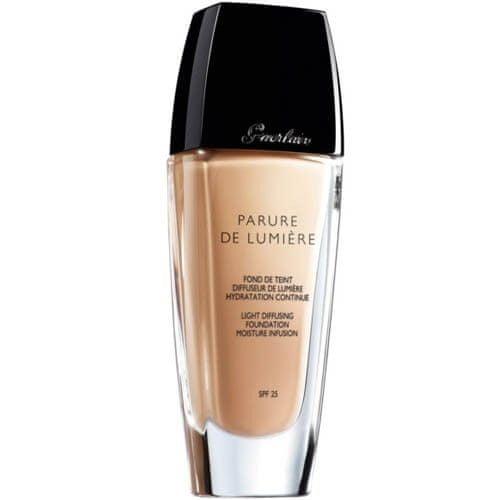 Guerlain Rozjasňující fluidní make-up Parure De Lumiere SPF 25 (Light-Diffusing Foundation) 30 ml 03 Beige Na