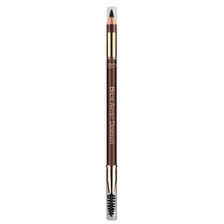 L'Oréal Ceruzka na obočie s kefkou Brow Artist Designer 1,2 g 302  Light Brunette