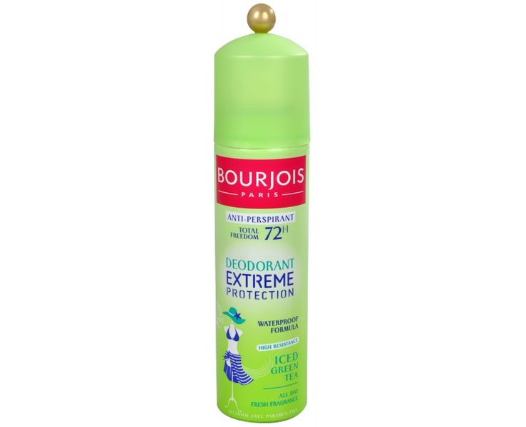 Bourjois 72hodinový deodorant-antiperspirant ve spreji Extreme Protection 150 ml