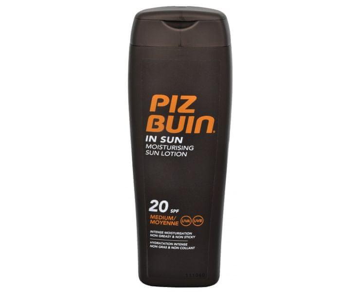 PizBuin Mléko na opalování SPF 20 (In Sun Moisturising Sun Lotion) 200 ml