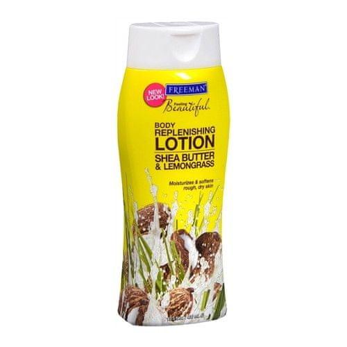 Freeman Vyživující tělové mléko s bambuckým máslem a citronovou trávou (Replenishing Body Lotion Shea Butter