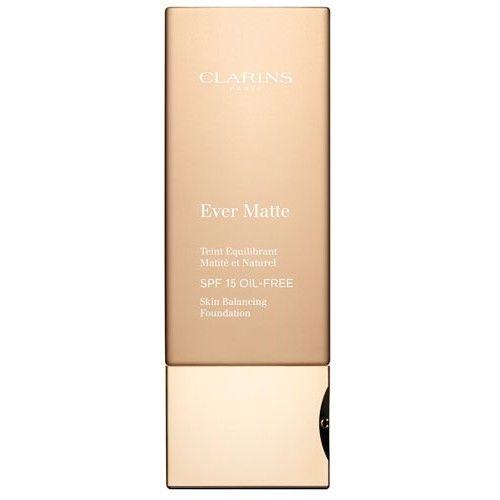 Clarins Fluidní zmatňující make-up SPF 15 Ever Matte (Skin Balancing Foundation) 30 ml 113 Chestnut