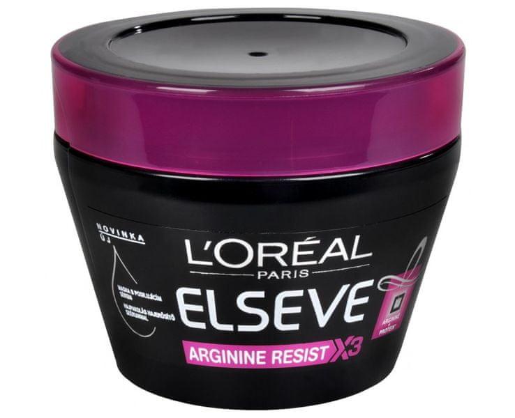 L'Oréal Maska s koncentrovaným posilujícím sérem Elseve Arginine Resist X3 300 ml