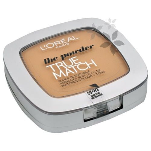 Loreal Paris Kompaktní pudr True Match (The Powder) 9 g D3 - W3 Golden Beige
