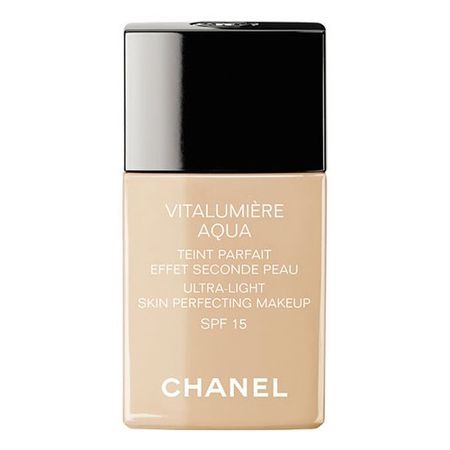 Chanel Rozjasňujúci hydratačný make-up Vitalumiere Aqua SPF 15 (Ultra-Light Skin Perfecting Sunscreen Makeu
