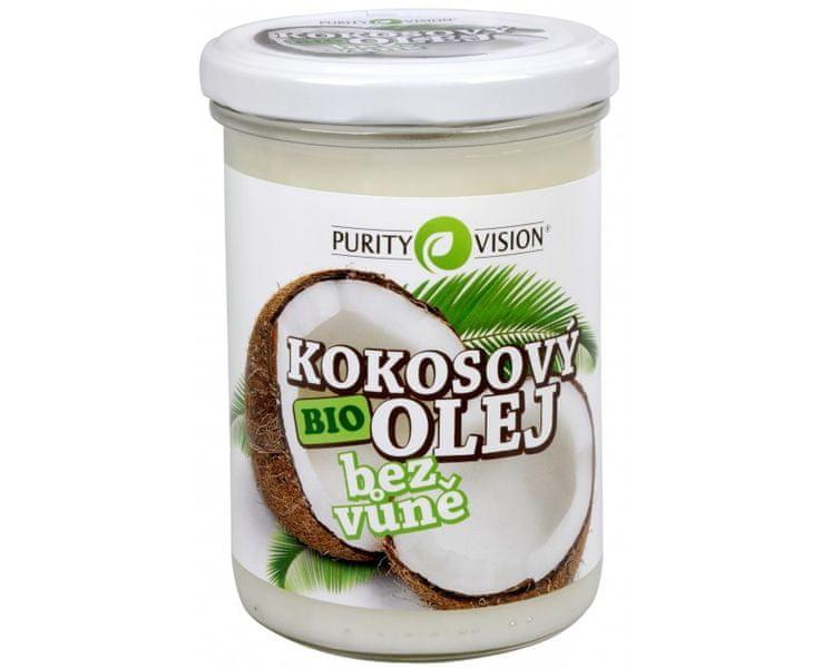 Purity Vision BIO Kokosový olej bez vůně 400 ml
