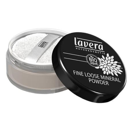 Lavera Jemný sypký minerálny púder (Fine Loose Mineral Powder) 8 g transparentní