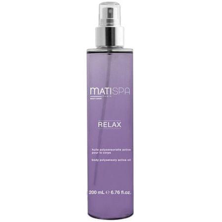 Matis Paris Polysenzorický aktivní olej Matispa Relax (Body Polysensory Active Oil) 200 ml