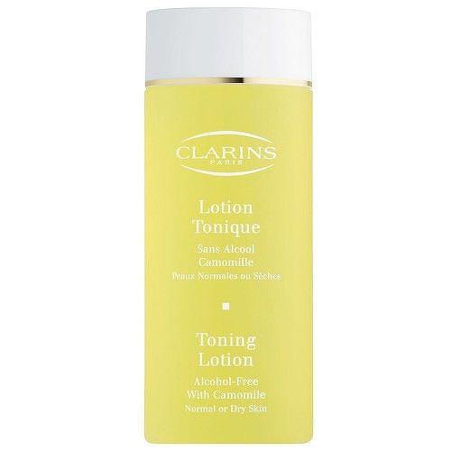 Clarins Čisticí pleťové tonikum s heřmánkem pro normální až suchou pleť (Toning Lotion Alc
