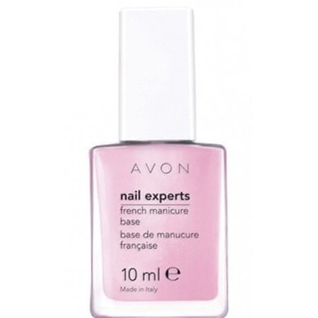 Avon Podkladový lak na francouzskou manikúru Nail Experts 10 ml Sheer French Pink