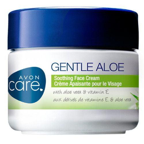 Avon Zklidňující pleťový krém s Aloe Vera a Vitaminem E Care Gentle Aloe 100 ml