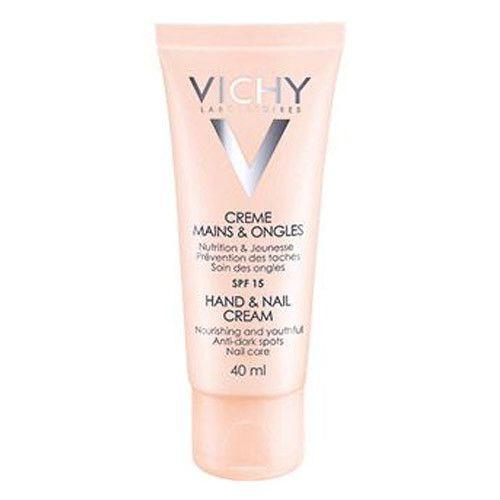 Vichy Krém na ruce a nehty proti tmavým skvrnám SPF 15 (Hand&Nail Cream) 40 ml