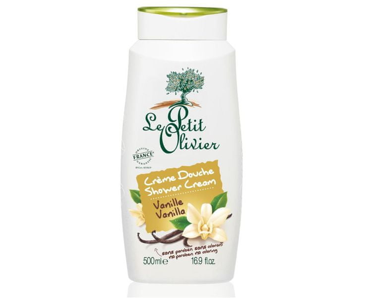 Le Petit Olivier Sprchový krém Vanilka 500 ml
