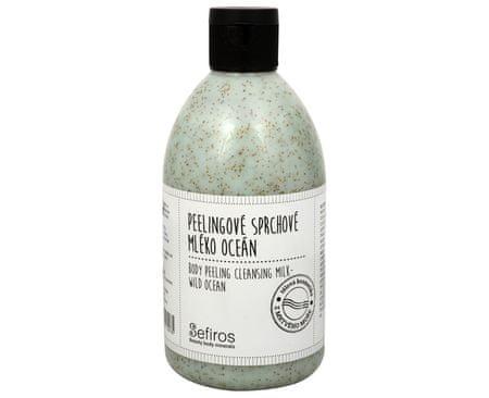 Sefiros Peelingové sprchové mlieko Oceán (Body Peeling Cleansing Milk) 500 ml