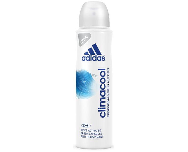 Adidas Antiperspirant ve spreji pro ženy Climacool Performance in Motion 48h 150 ml