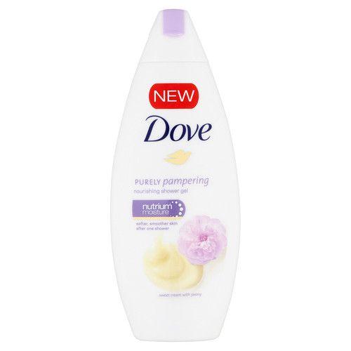 Dove Sprchový gel s vůní smetany a pivoňky Purely Pampering (Nourishing Shower Gel) 250 ml