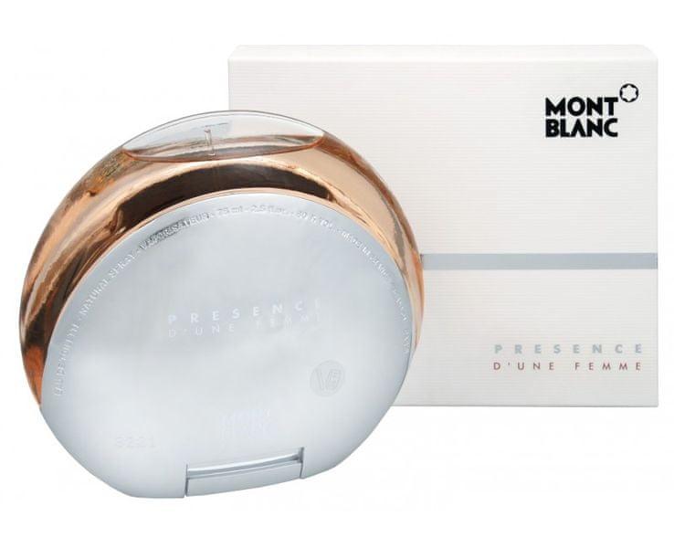 Mont Blanc Presence D´une Femme - toaletní voda s rozprašovačem 75 ml