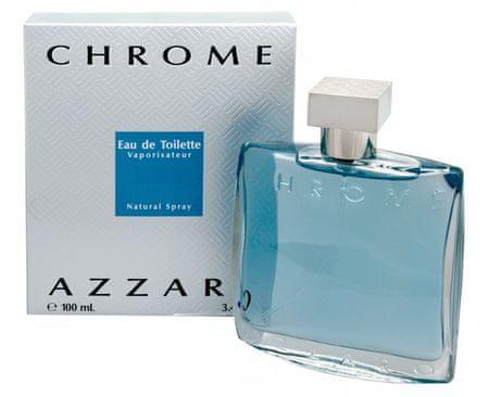 Azzaro Chrome - toaletná voda s rozprašovačom 100 ml