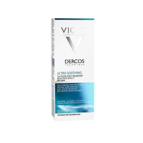 Vichy Ultrazklidňující šampon pro suché vlasy Dercos (Ultra smoothing Shampoo) 200 ml