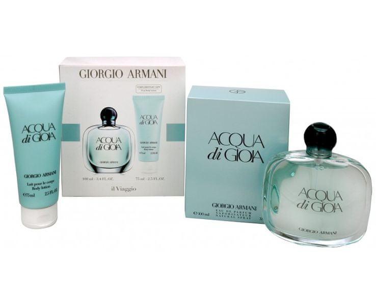 Giorgio Armani Acqua Di Gioia - EDP 100 ml + tělové mléko 75 ml