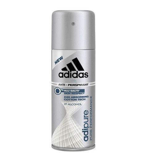 Adidas Antiperspirant deodorant ve spreji pro muže Adipure 150 ml