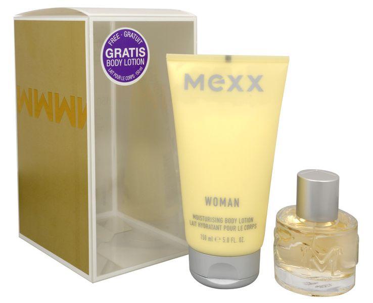 Mexx Woman - toaletní voda s rozprašovačem 40 ml + tělové mléko 150 ml
