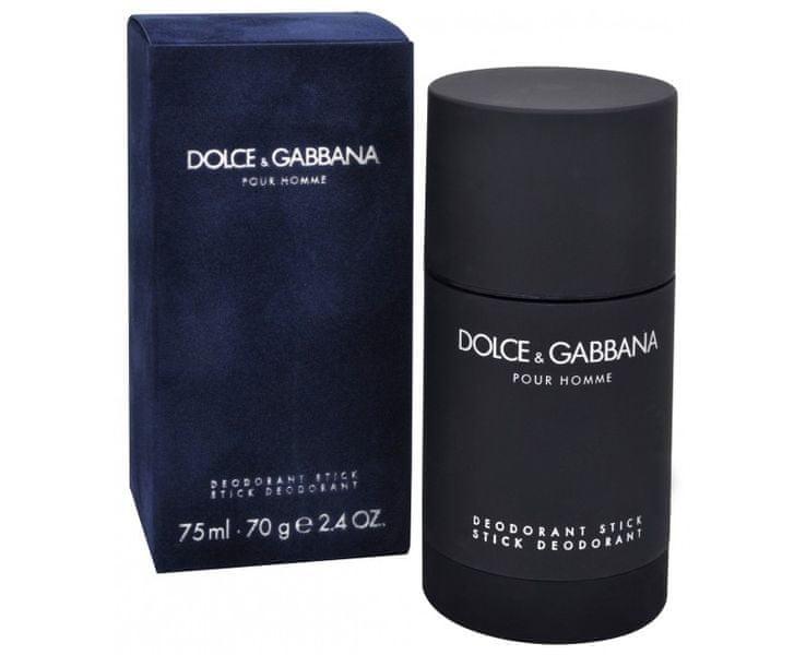 Dolce & Gabbana Pour Homme 2012 - tuhý deodorant 75 ml
