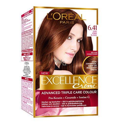 L'Oréal Permanentní barva na vlasy Excellence Creme 4.15 hnědá ledová