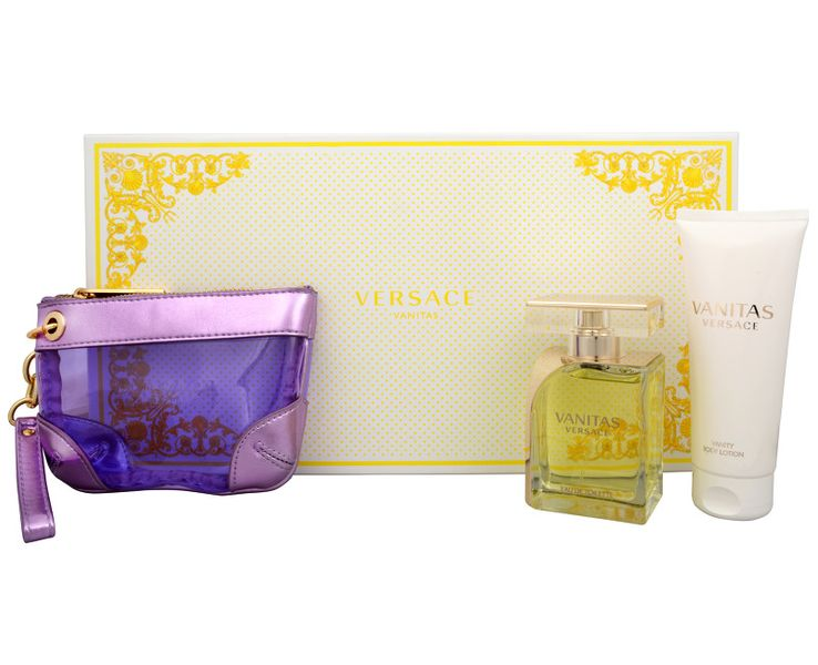 Versace Vanitas - EDT 100 ml + tělové mléko 100 ml + kosmetická taška