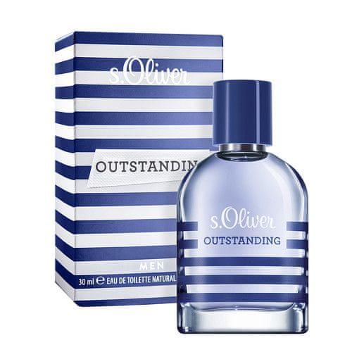 s.Oliver Outstanding Men - toaletní voda s rozprašovačem 30 ml