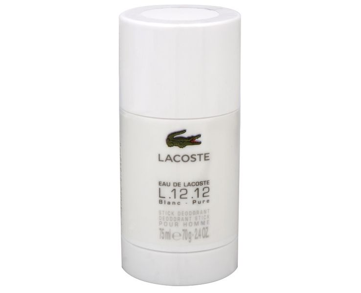 Lacoste Eau De Lacoste L.12.12 Blanc - tuhý deodorant 75 ml