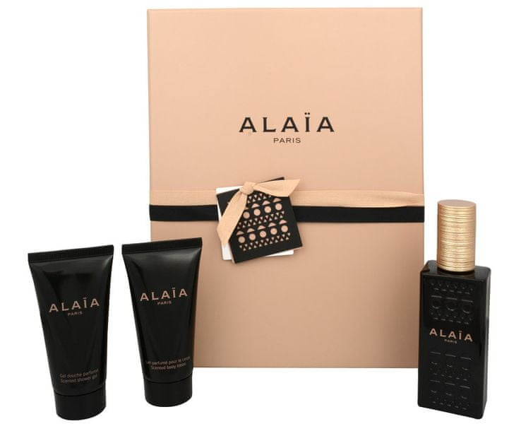 Azzedine Alaia Alaïa Paris - parfémová voda s rozprašovačem 50 ml + tělové mléko 50 ml + sprchový gel 50 ml