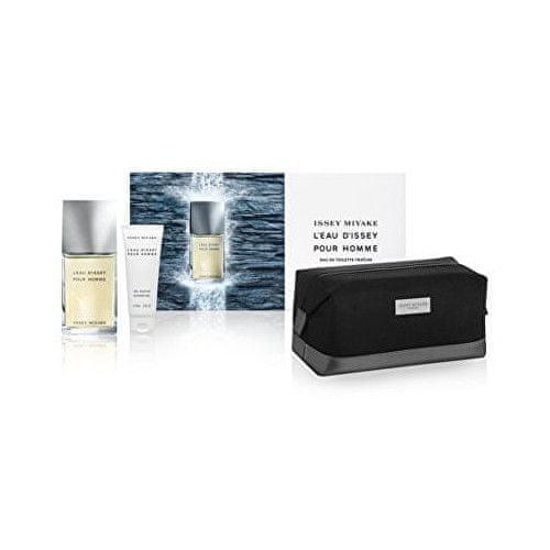 Issey Miyake L´Eau D´Issey Pour Homme Fraiche - EDT 50 ml + sprchový gel 50 ml + kosmetická taška