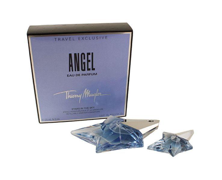 Thierry Mugler Angel - EDP 25 ml (plnitelná) + miniatura EDP 5 ml