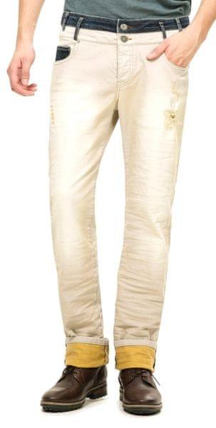 Desigual pánské jeansy 32 béžová