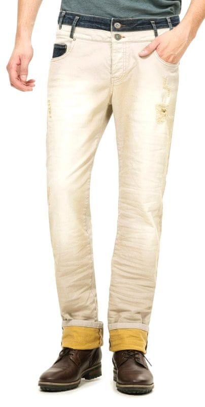 Desigual pánské jeansy 30 béžová - Parametre  7f449f316d8