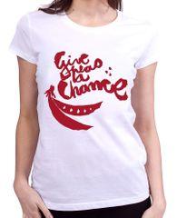 KlokArt dámské tričko Stanley & Stella Likes bílá