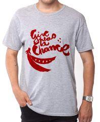 KlokArt pánské tričko Gildan 4100 šedá