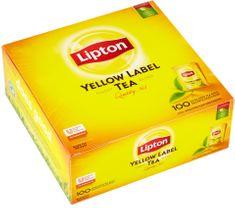 Lipton Yellow Label černý čaj 100 sáčků