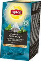 Lipton Exclusive Selection English Breakfast 25 sáčků