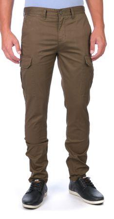 GLOBE moške hlače Goodstock Cargo 31 zelena