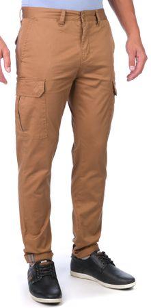 GLOBE moške hlače Goodstock Cargo 33 rjava