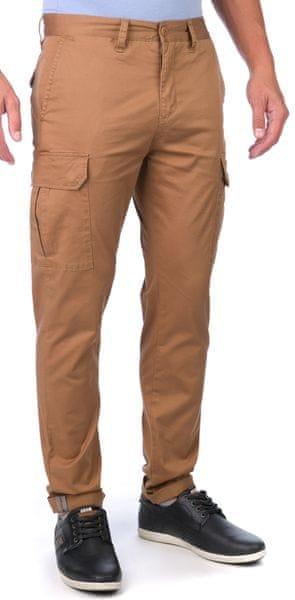 GLOBE pánské kalhoty Goodstock Cargo 31 hnědá