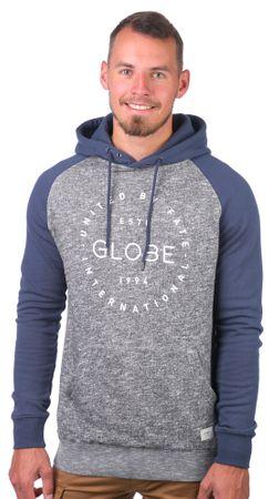 GLOBE férfi pulóver Windsor Hoodie II M szürke