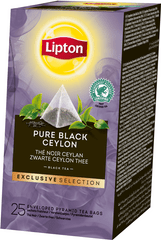 Lipton Exclusive Selection Pure Black Ceylon 25 sáčků